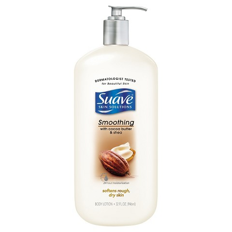 Suave cocoa butter with shea body lotion review