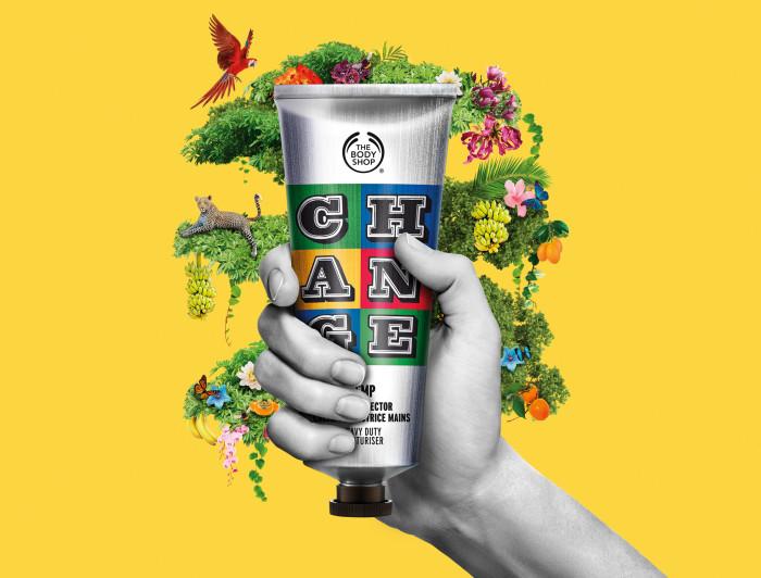 The Body Shop Almond Hand Cream